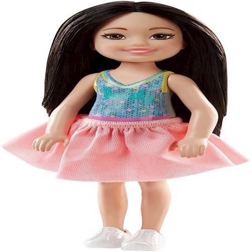 Image of   Barbie - Chelsea og venner, dukke med sort hår