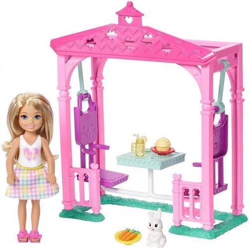 Image of   Barbie - Chelsea legesæt, picnic