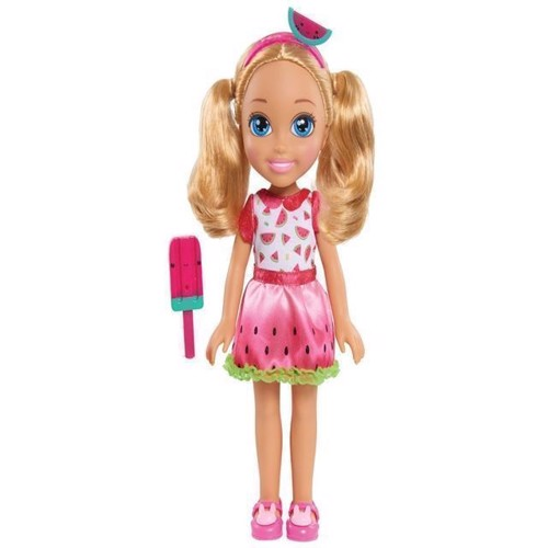 Image of   Barbie - Club Chelsea mode dukke 35cm