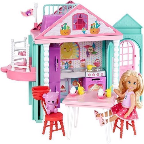 Image of   Barbie - Club Chelsea legehus (DWJ50)