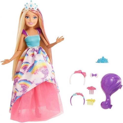 Image of   Barbie, Dreamtopia dukke 43 cm, multifarvet