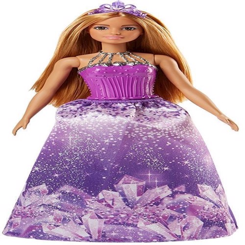 Image of   Barbie - Dreamtopia prinsesse dukke Sparkle Mountain (FJC97)