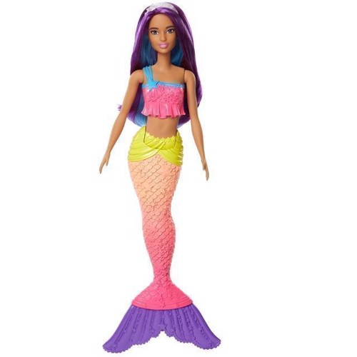 Image of   Barbie, Dreamtopia havfrue dukke