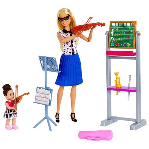 Image of Barbie Karierre Dukke, Musik Lærer