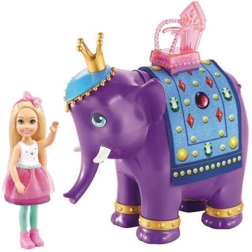 Image of Barbie Chelsea Med Elefant Fpl82