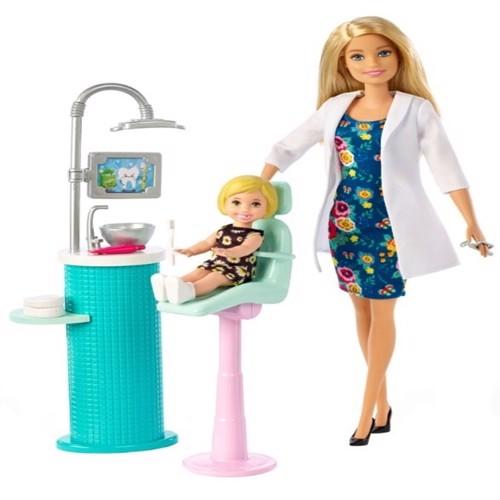 Image of Barbie - tandlæge legesæt (FXP16) (0887961697018)