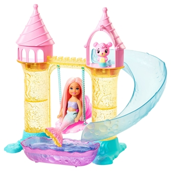 Image of Barbie Dreamtopia Chelsea havfrue legesæt