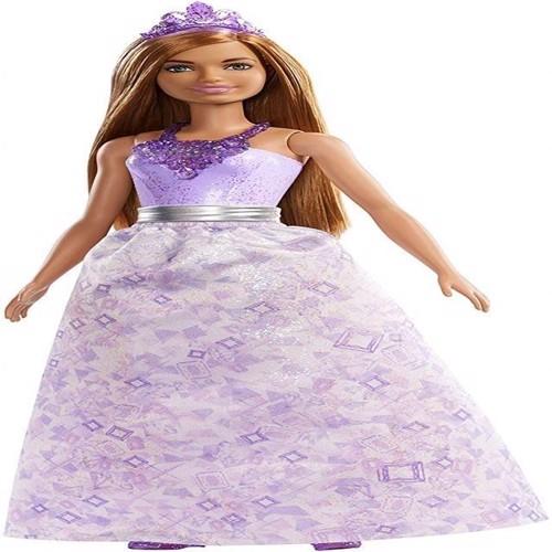 Image of Barbie Dreamtopia Prinsesse, solbrun FXT14