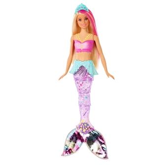 Image of Barbie Dreamtopia Glimtende Lys Havfrue