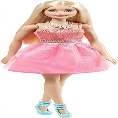 Image of Barbie Dukketøj Glimmerkjole Med Sko