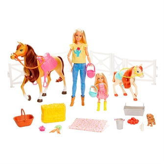 Image of Barbie Hest Og Pony