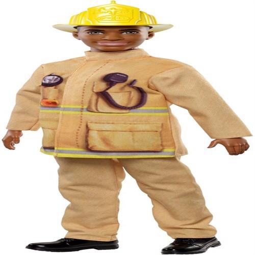 Image of Barbie karierre dukke brandmand Ken fxp05