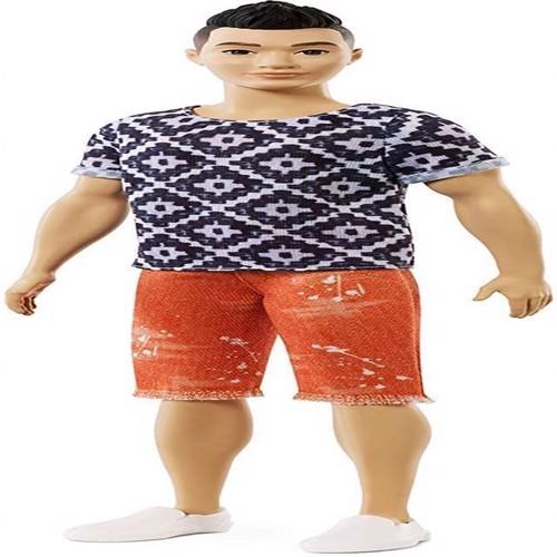 Image of Barbie Ken dukke Fashionistas Geometric trøje