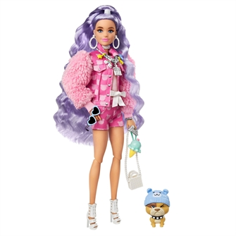 Image of Barbie Millie with Purple Hair (0887961954999)