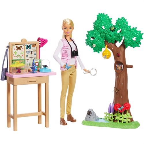 Image of Barbie National Geographic Sommerfugle Ekspert Legesæt
