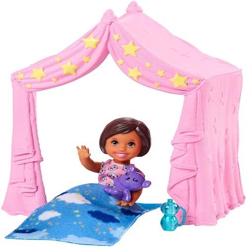 Image of Barbie skipper babysitters legesæt med dukke