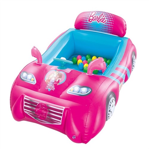 Image of Barbie Sportsbil Boldebassin Med 25 Bolde