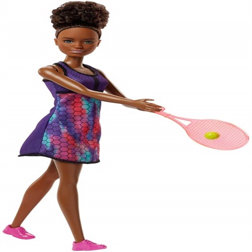 Image of Barbie, tennis dukke