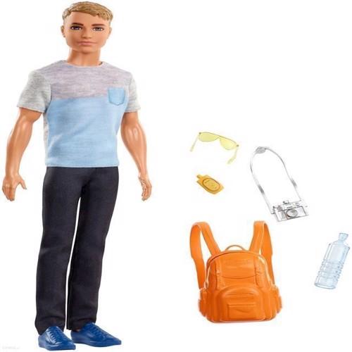 Image of Barbie dukke, Ken rejse dukke