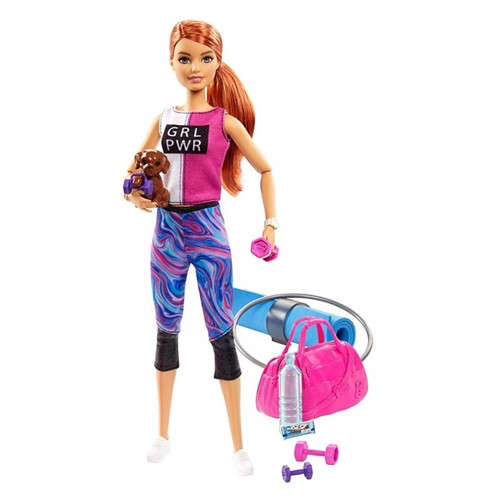 Barbie - Wellness dukke - Athlesiure (GJG57)