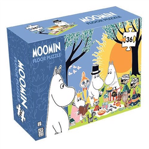 Image of Barbo Toys, puslespil, moomin gulvpuslespil 36 dele