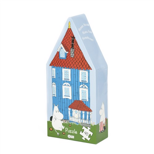 Image of Barbo Toys, puslespil, moomin hus