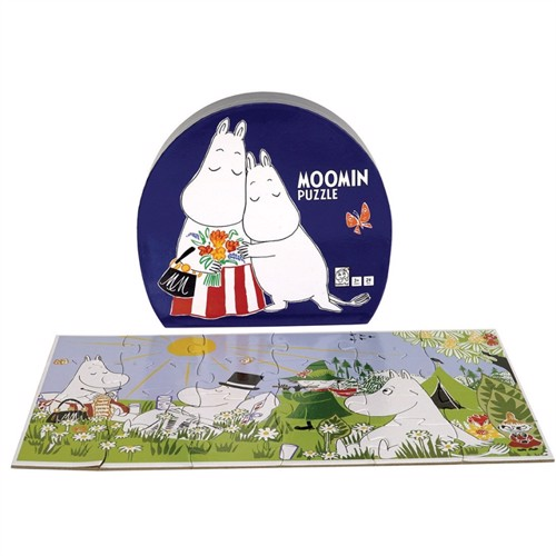 Image of Barbo Toys, puslespil, moomin deluxe mor