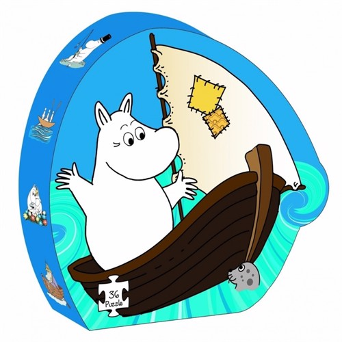 Image of Barbo Toys, puslespil, moomin Thesea
