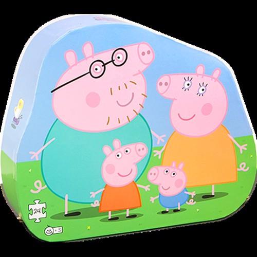 Image of Barbo Toys, puslespil, gurli gris og familie 24 dele (5704976089513)