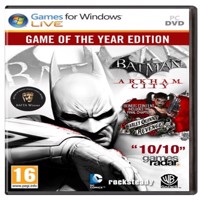 Batman Arkham City  Game of the Year Edition - Xbox 360