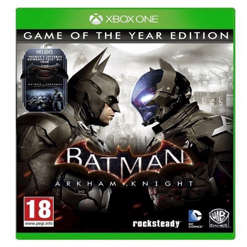 Image of Batman Arkham Knight Game of the Year Edition - PS4 (5051895405888)