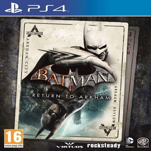 Image of   Batman Return to Arkham - PS4