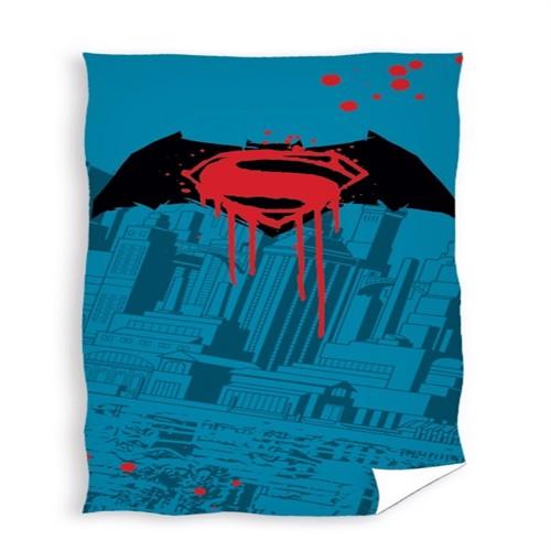 Image of Batman Superman Badehåndklæde 100 Procent Bomuld (5902385210164)