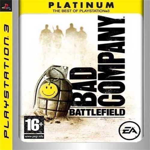 Image of Battlefield Bad Company Platinum - PS3 (5030930075941)