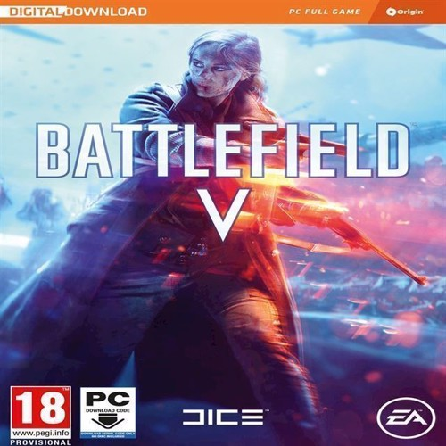 Image of Battlefield V 5 Nordic Code In A Box - Pc (5035224122271)
