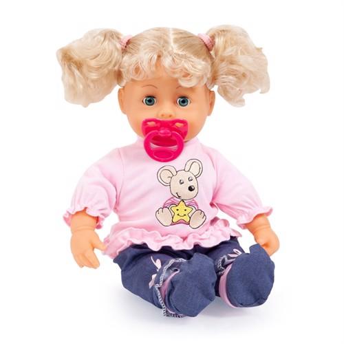Image of Bayer Dukke 38 Cm, Interaktiv Baby Blond (4003336938135)