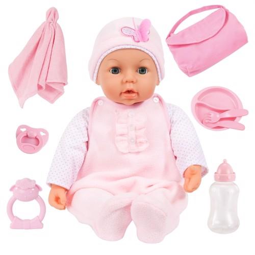 Image of Bayer Baby Dukke 46 Cm Piccolina Magiske Øjne