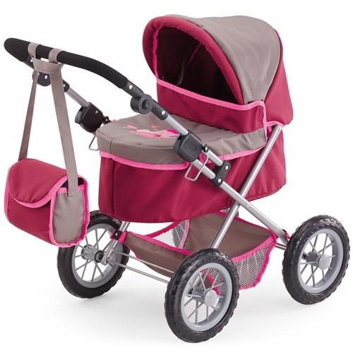 Image of Bayer - dukkevogn - Trendy - Pink/grå (4003336130782)