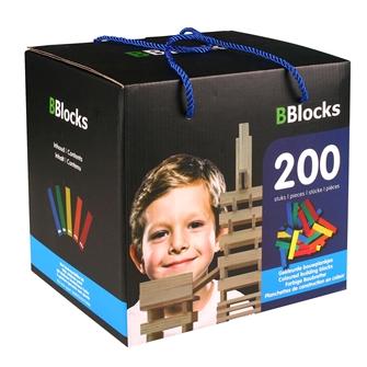 Image of BBlocks Construction boards, Color 200 PCs (8718182370416)