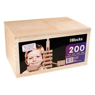 Image of BBlocks Kist 200 Blank Planks (8718182370324)