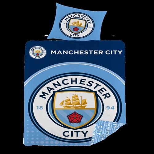 Image of Sengetøj - 140 x 200 cm - Manchester City (5714710003309)