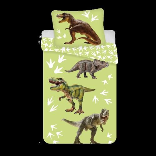 Image of Sengetøj 140 x 200 cm - Dinosaur (5714710004221)