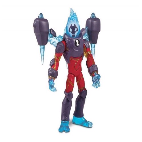 Image of Ben 10, Omni Enchanced figur Heatblast (0043377761167)