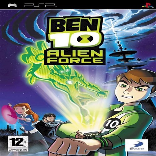 Image of Ben 10 Alien Force, PSP