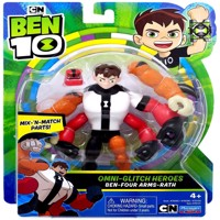 Ben 10 Omni enhanced figur Ben four arms rath