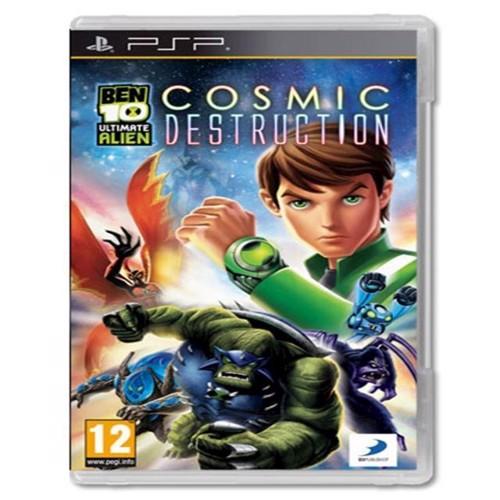 Image of Ben 10, Ultimate Alien, Cosmic Destruction, PSP (5060125485682)