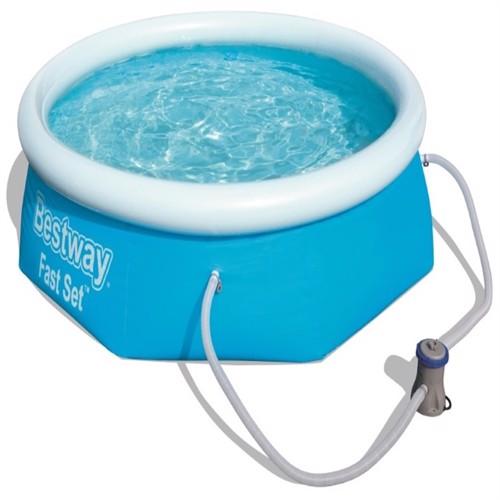 Image of Bestway Fast Set Pool Sæt 244 X 66Cm Med Filter Pumpe