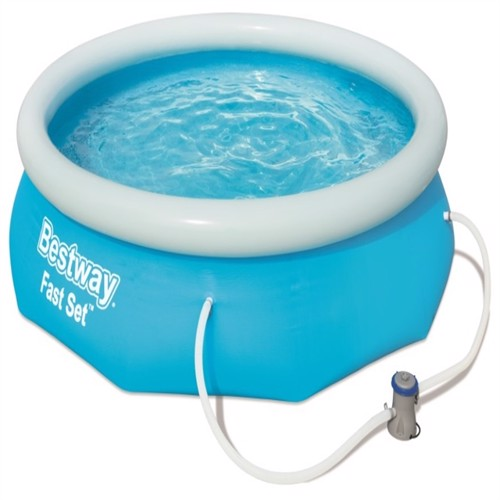 Image of Bestway Fast Set Pool Str 305 X 76Cm M. Filter Pumpe