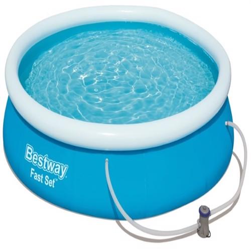 Image of Bestway Fast Set Pool Str. 366 X 76Cm M.Filter Pumpe