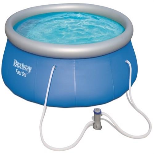 Image of Bestway Fast Set Pool Str 396X 84Cm M. Filter Pumpe